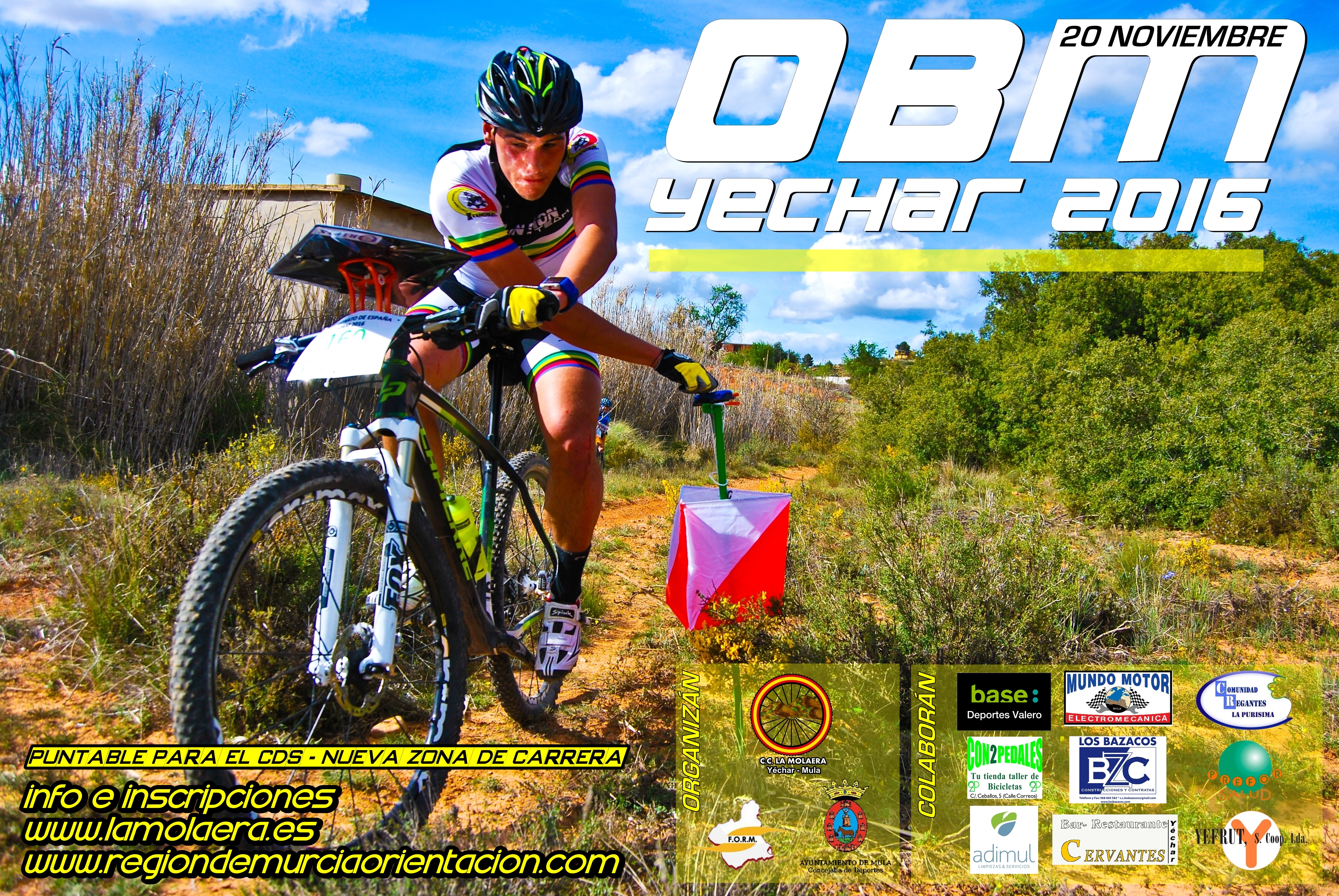 VII Bike Orientación de Yéchar